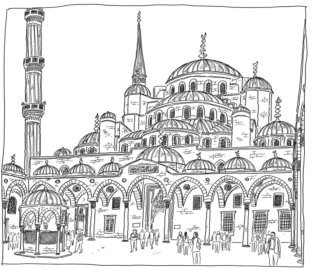 Istanbul Coloring, Download Istanbul Coloring For Free 2019