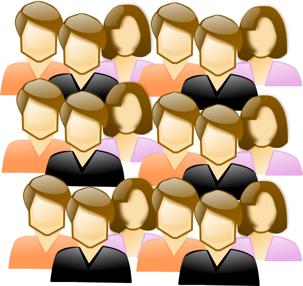 It Crowd clipart #2, Download drawings