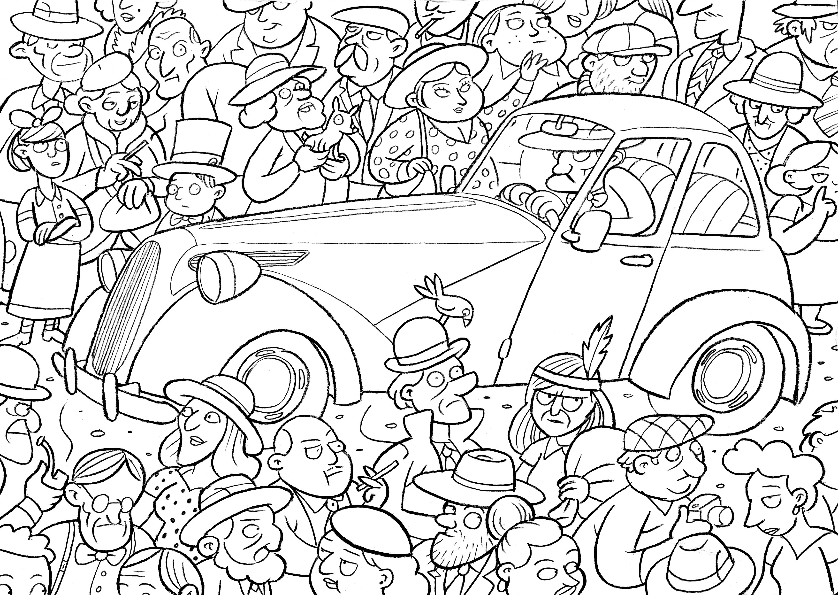 It Crowd coloring #1, Download drawings