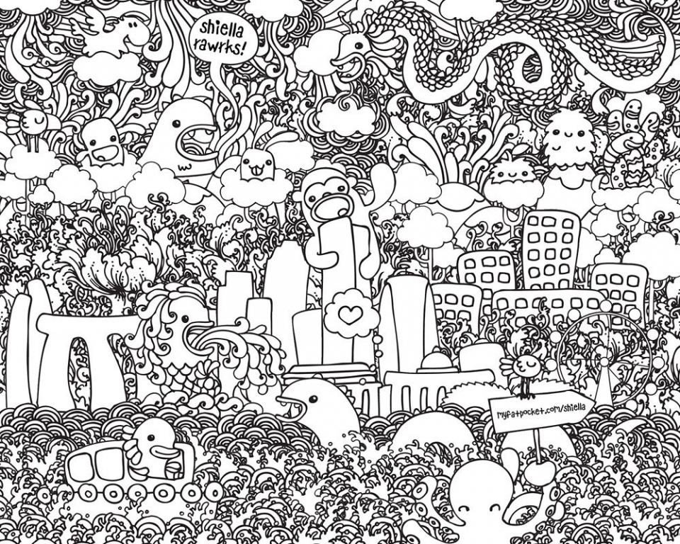 It Crowd coloring #5, Download drawings