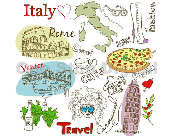 Italy clipart #10, Download drawings