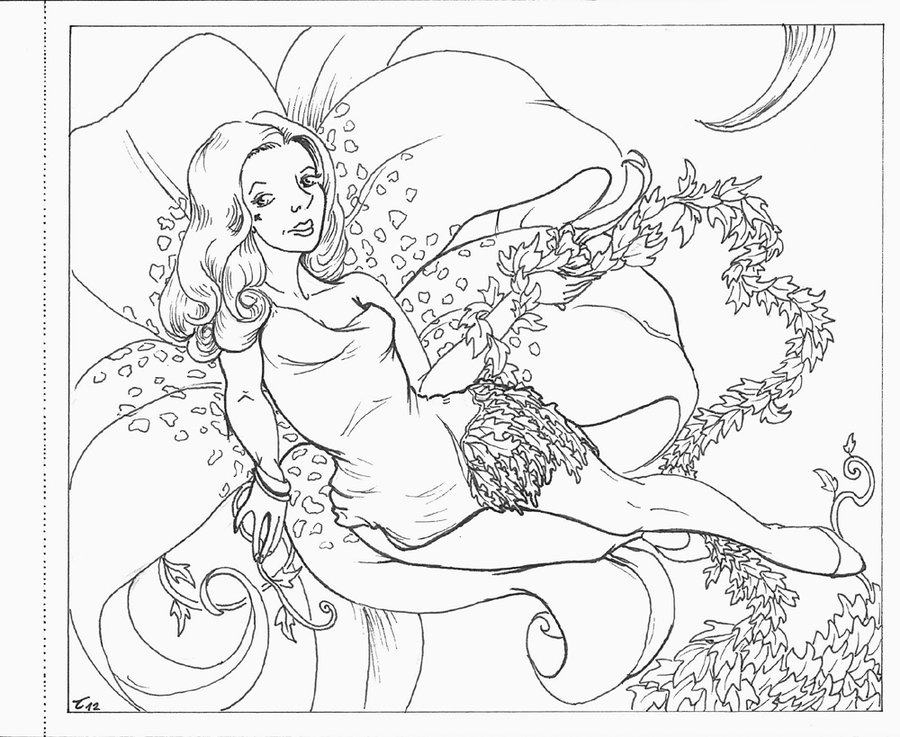 Ivy coloring #2, Download drawings