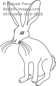 Jack Rabbit clipart #14, Download drawings