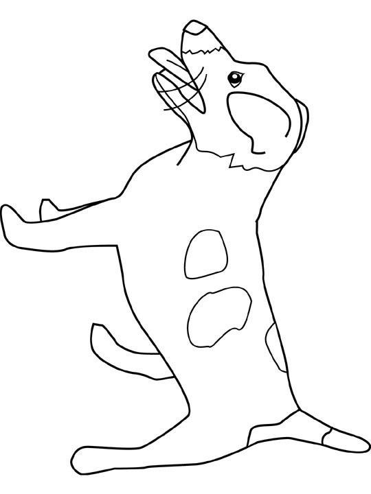 jack russell coloring pages - photo#23