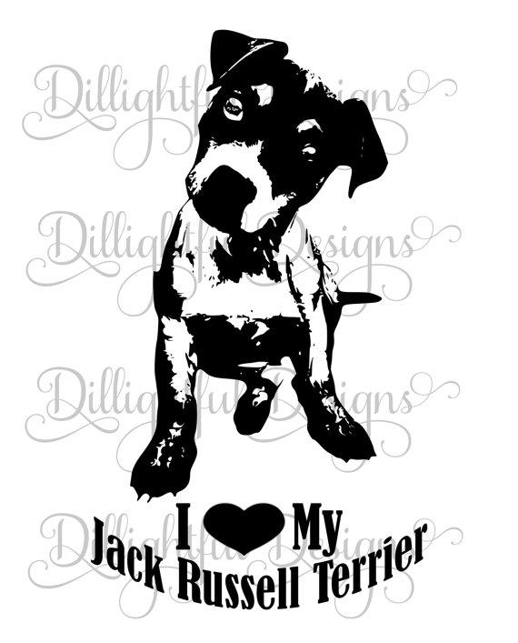 Jack Russell Terrier svg #15, Download drawings