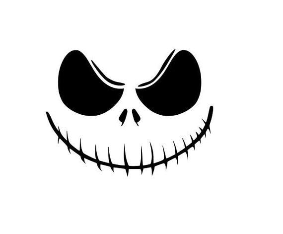 jack skellington face svg #1104, Download drawings