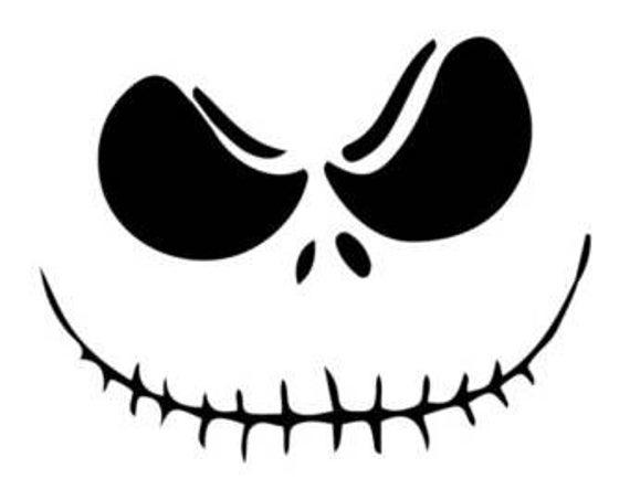 jack skellington face svg #1111, Download drawings