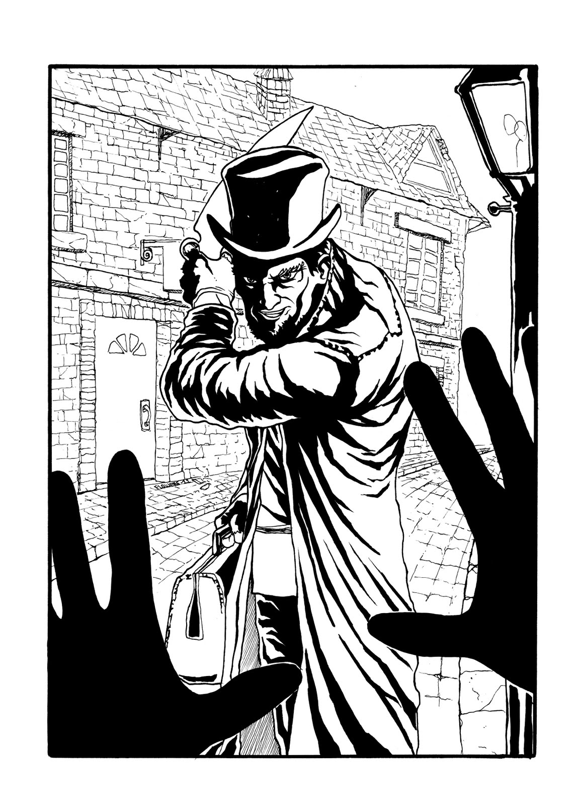 Jack The Ripper coloring #20, Download drawings