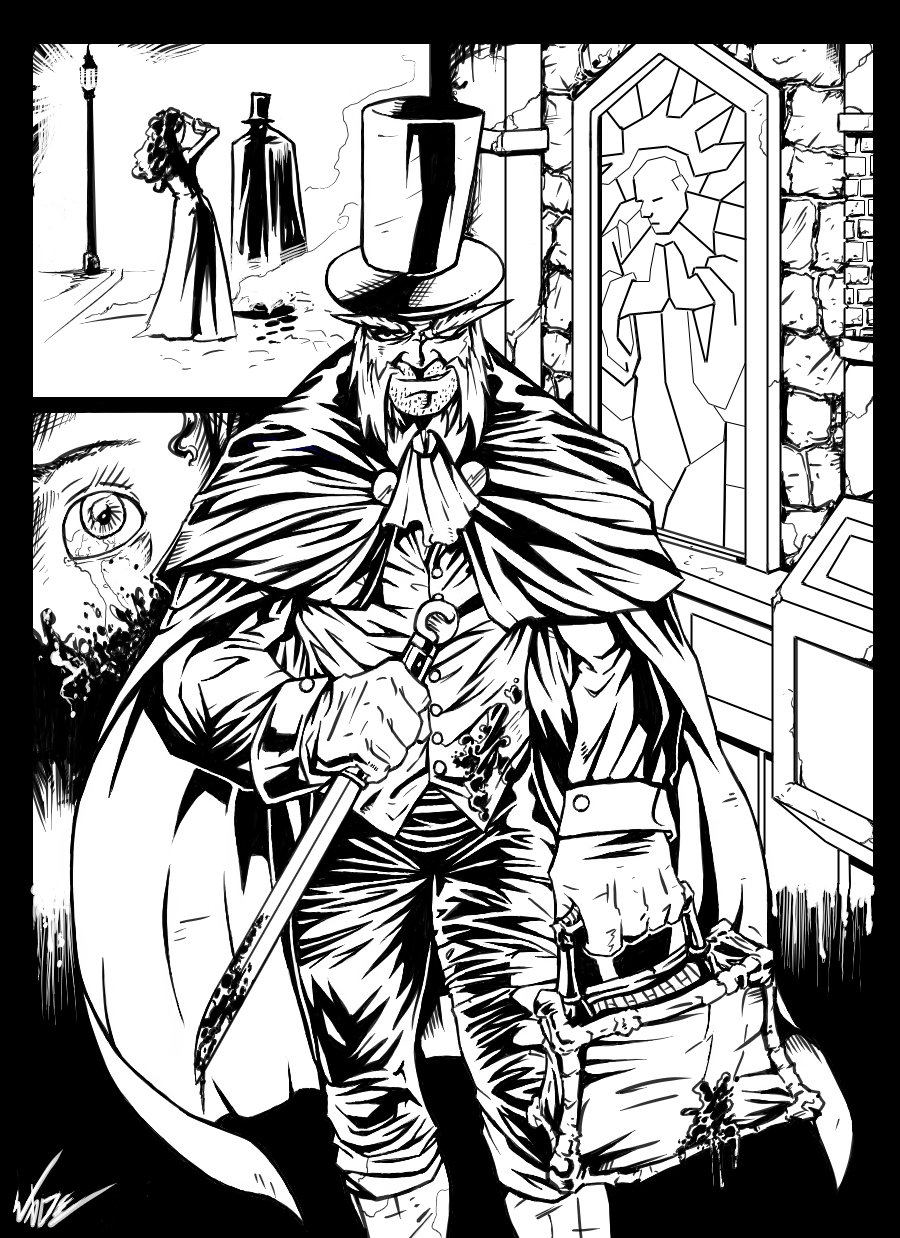 Jack The Ripper coloring #1, Download drawings