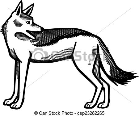 Jackal clipart #7, Download drawings