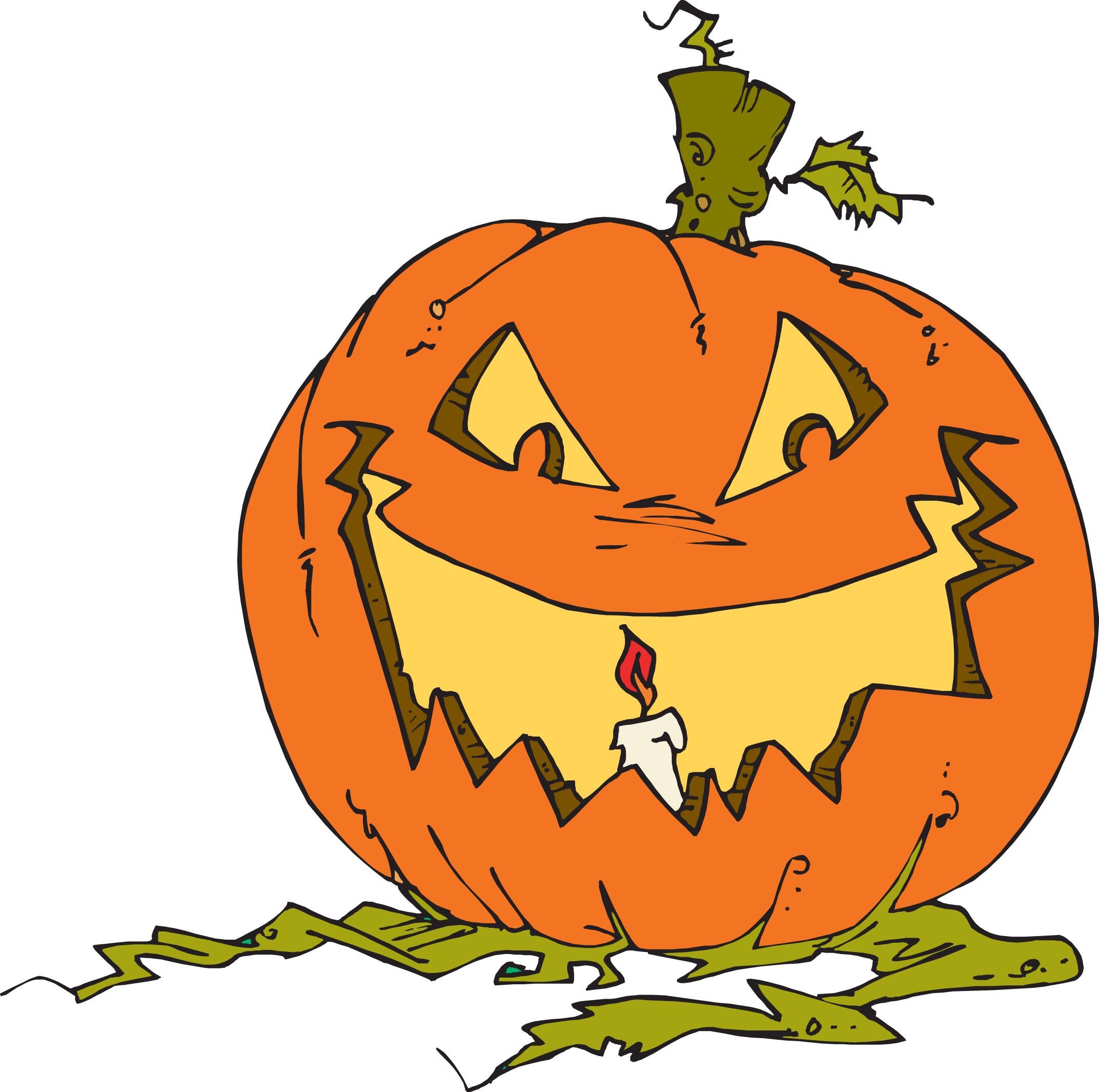 Jack-o'-lantern clipart #1, Download drawings