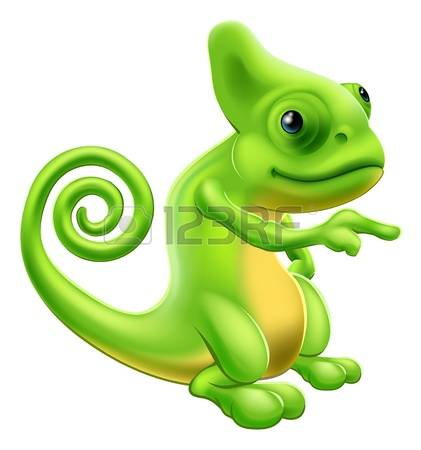 Jackson's Chameleon clipart #3, Download drawings