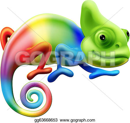 Jackson's Chameleon clipart #13, Download drawings