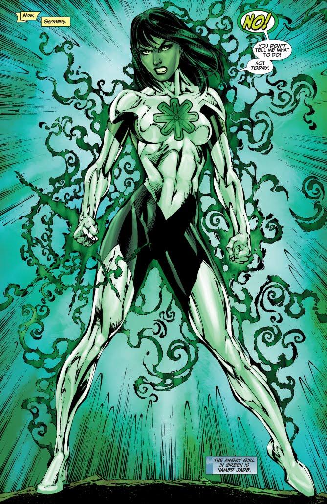 Jade (DC Comics) coloring #19, Download drawings