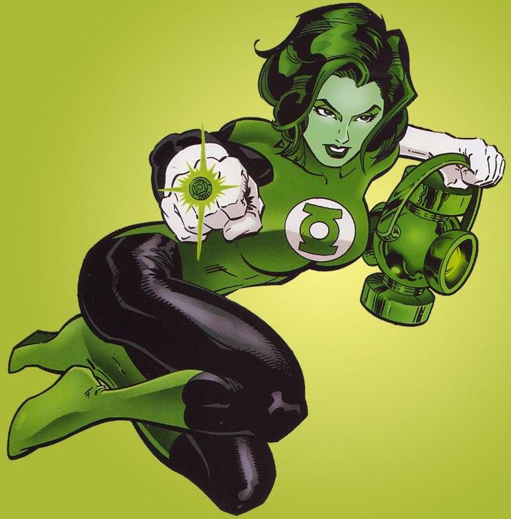Jade (DC Comics) coloring #17, Download drawings