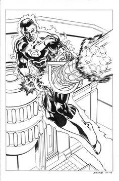 Jade (DC Comics) coloring #9, Download drawings