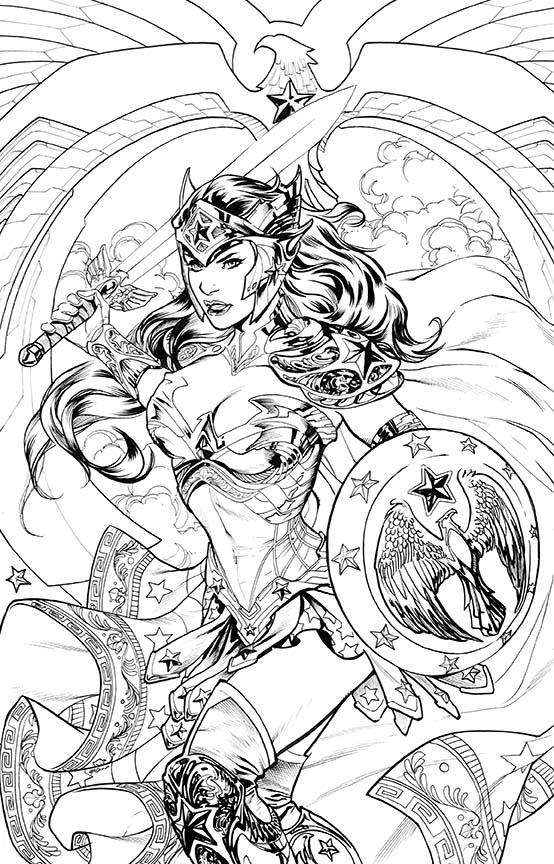 Jade (DC Comics) coloring #5, Download drawings