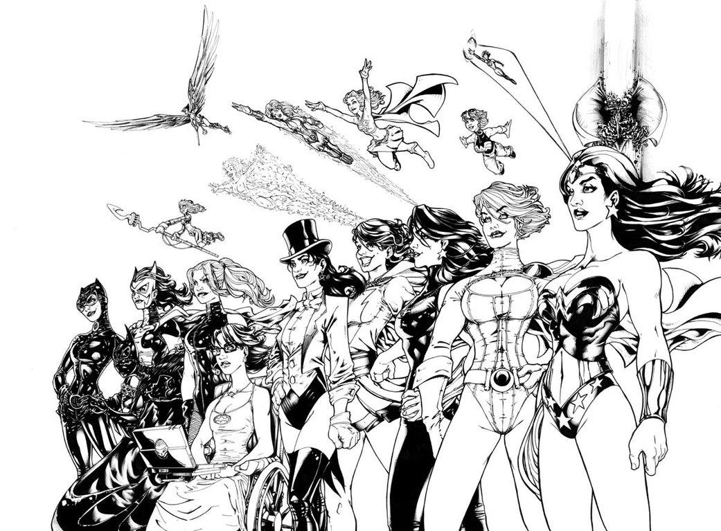 Jade (DC Comics) coloring #16, Download drawings