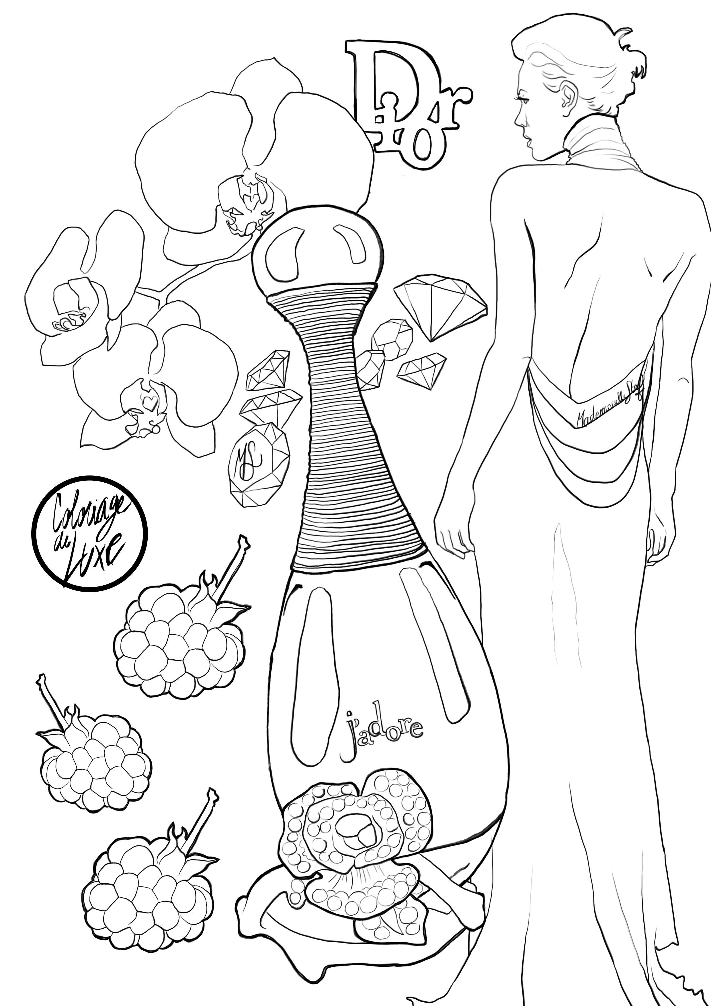 J'adore coloring #4, Download drawings