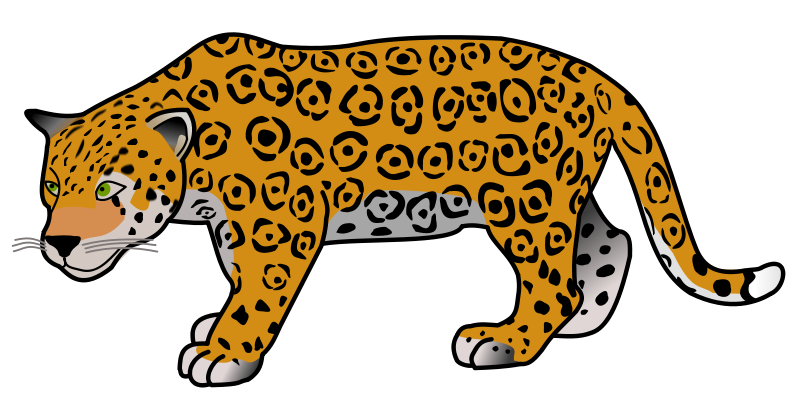 Jaguar clipart #18, Download drawings