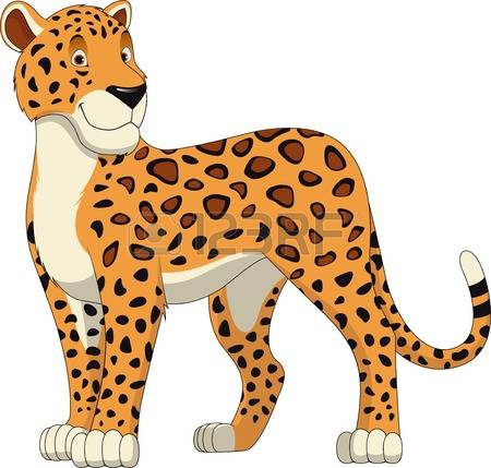 Leopard clipart #8, Download drawings