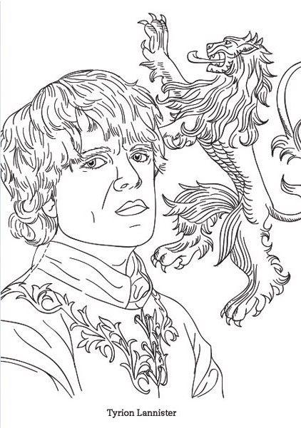Jaime Lannister coloring #7, Download drawings