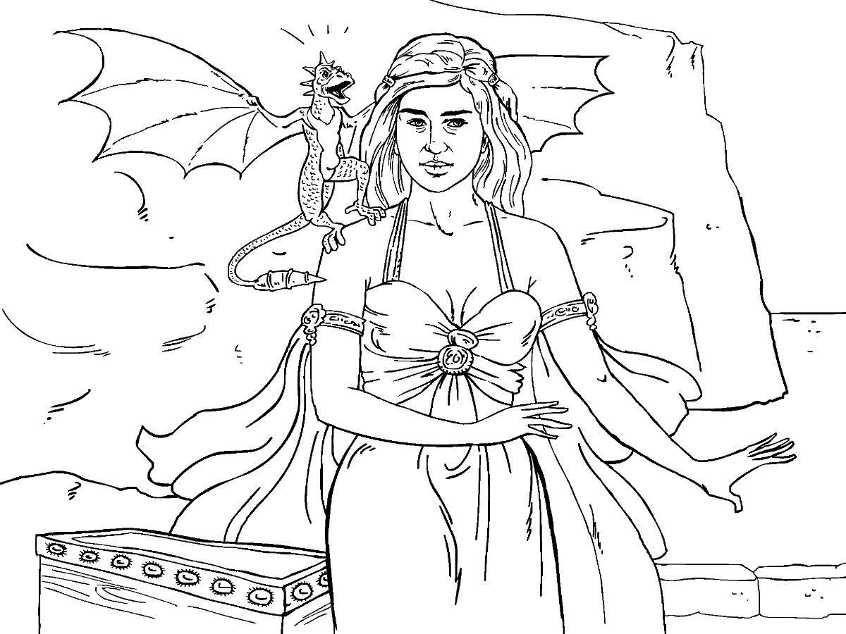 Jaime Lannister coloring #4, Download drawings
