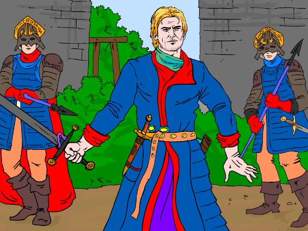 Jaime Lannister coloring #16, Download drawings