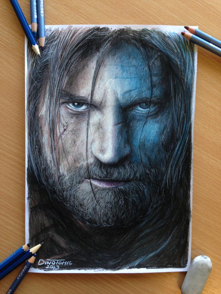 Jaime Lannister coloring #10, Download drawings