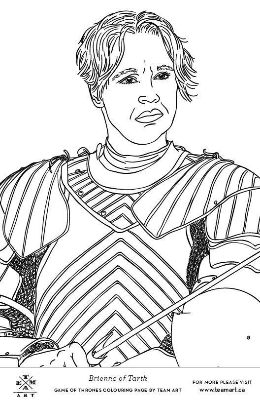 Jaime Lannister coloring #17, Download drawings