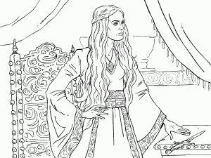 Jaime Lannister coloring #14, Download drawings