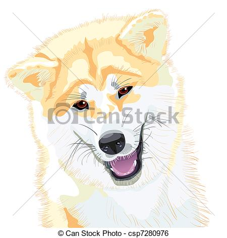 Japanese Akita clipart #4, Download drawings