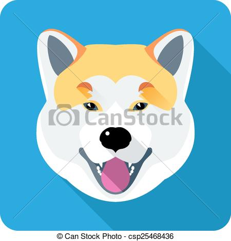 Japanese Akita clipart #8, Download drawings