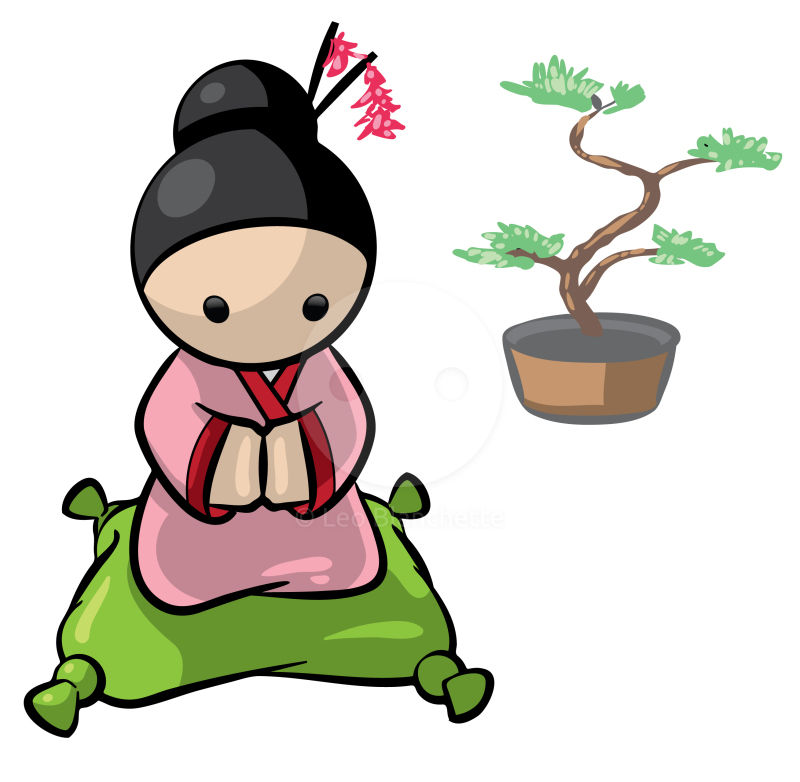 Japanese clipart #1, Download drawings