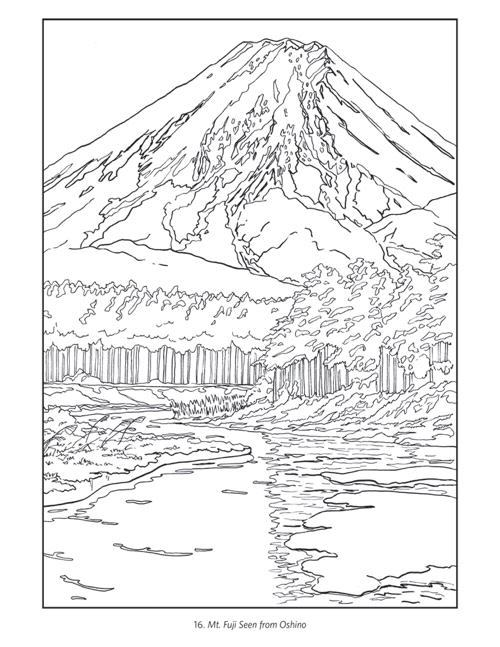 Japanese coloring #3, Download drawings