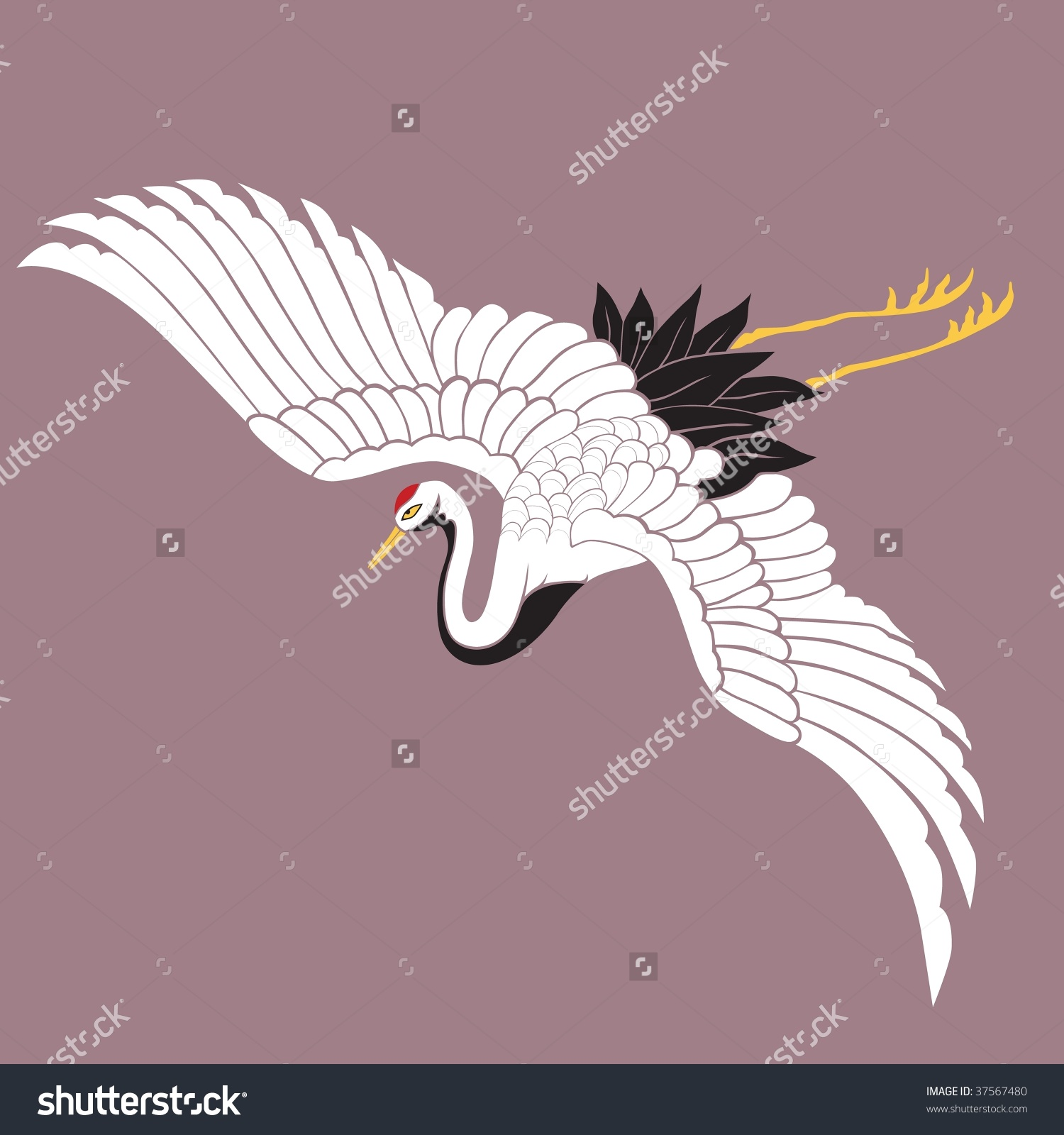 Japanese Crane clipart #19, Download drawings