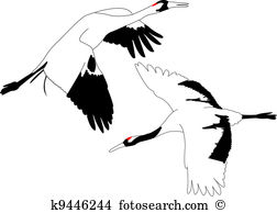 Japanese Crane clipart #12, Download drawings