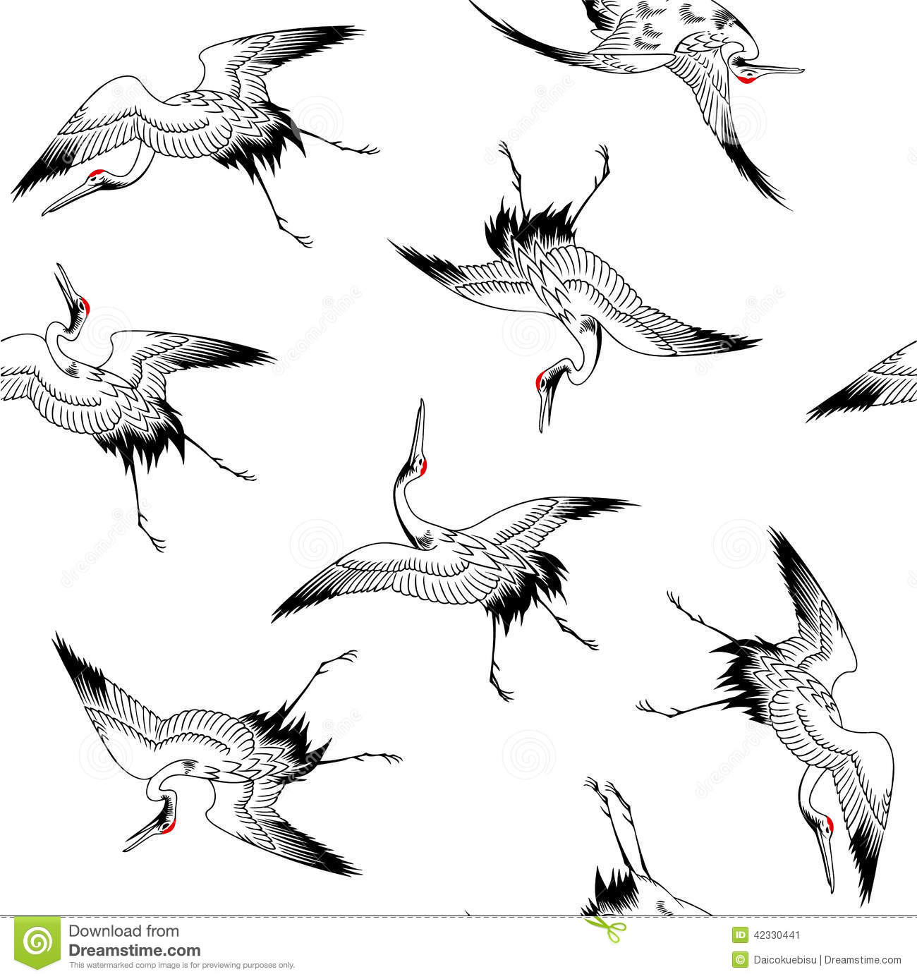Japanese Crane clipart #17, Download drawings
