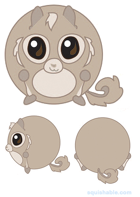 The Japanese Dwarf Flying Squirrel clipart #2, Download drawings