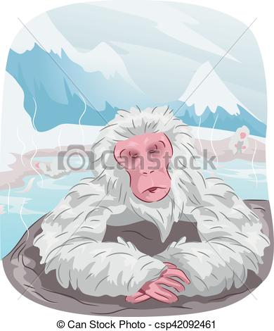 Japanese Macaque clipart #9, Download drawings