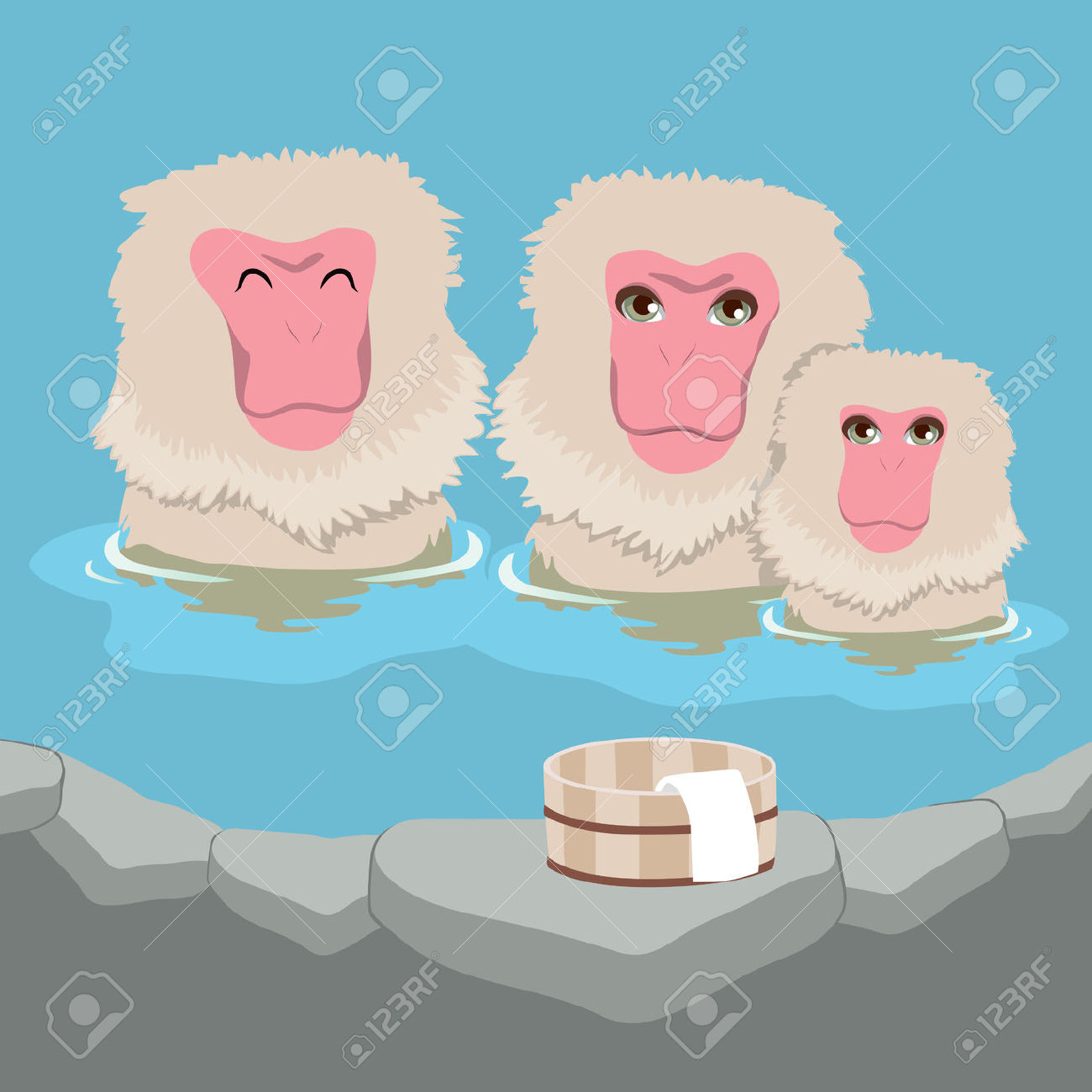 Japanese Macaque clipart #13, Download drawings