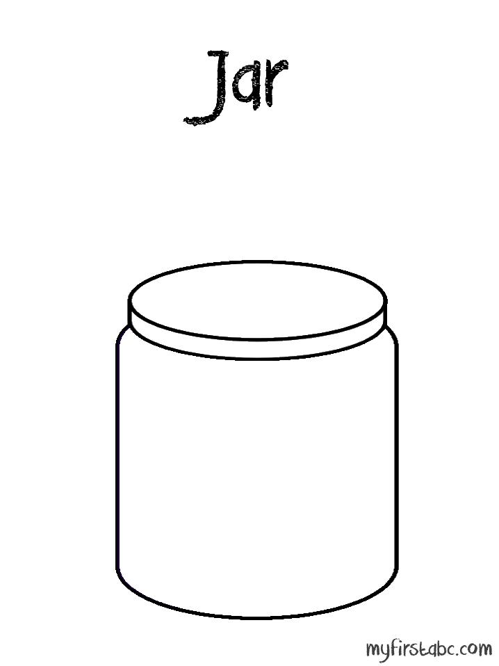 Jar coloring #5, Download drawings