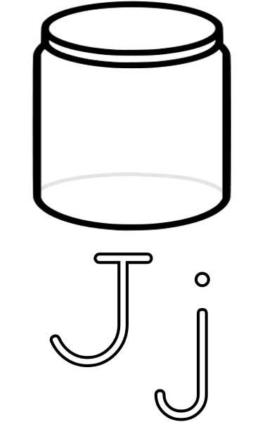 Jar coloring #20, Download drawings