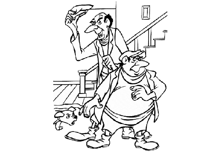 horace and jasper coloring pages - photo#3