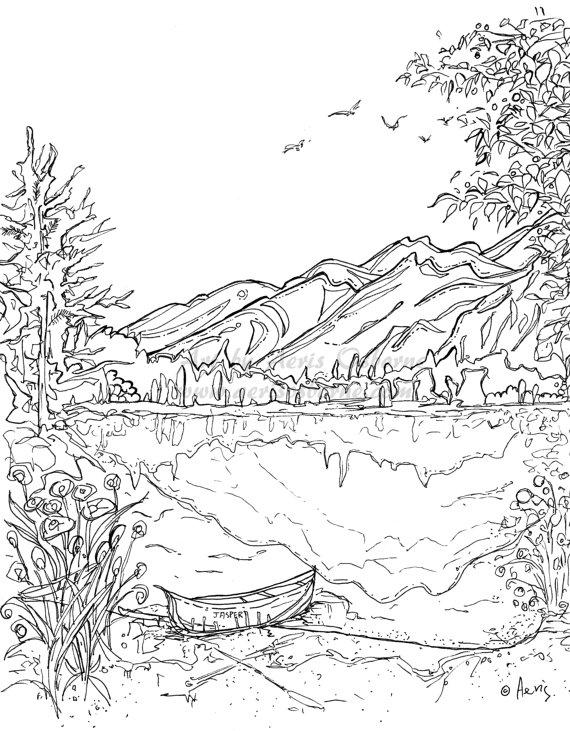 Pandora Mountains coloring #18, Download drawings