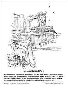 Joshua Tree National Park coloring #6, Download drawings