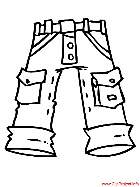 Jeans coloring #16, Download drawings