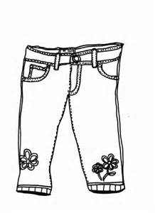 Jeans coloring #4, Download drawings