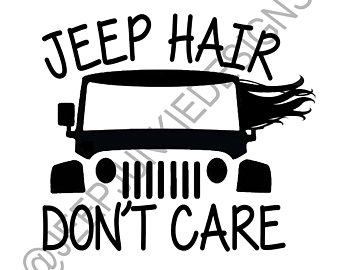 jeep hair don't care svg #572, Download drawings