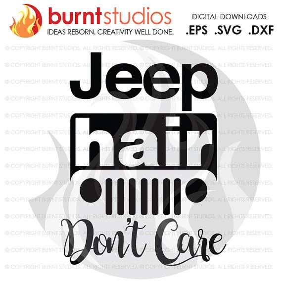 jeep hair don't care svg #573, Download drawings